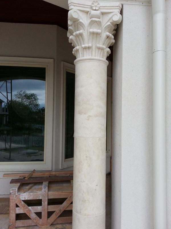 Columns All World Stone Amp Design Llc